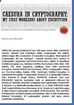 Abbildung von Ackermann / Klein | Caesura in Cryptography | 1. Auflage | 2020 | beck-shop.de