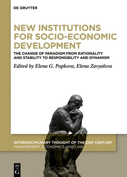 Abbildung von Popkova / Zavyalova | New Institutions for Socio-Economic Development | 1. Auflage | 2021 | beck-shop.de