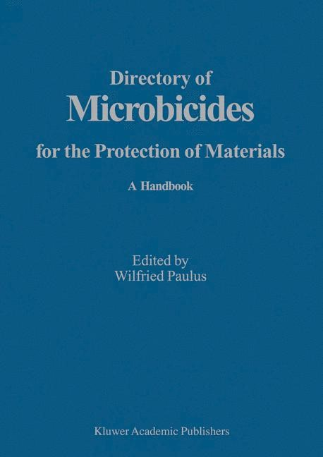Abbildung von Paulus | Directory of Microbicides for the Protection of Materials | 2005