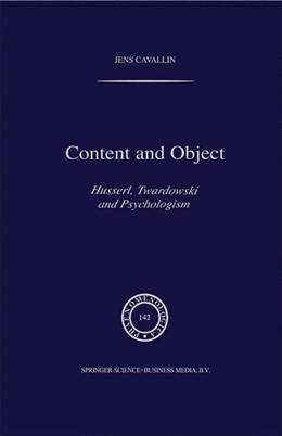 Abbildung von Cavallin   Content and Object   1997