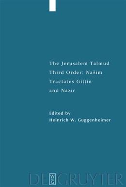 Abbildung von Guggenheimer | Tractates Gittin and Nazir | 1. Auflage | 2020 | beck-shop.de