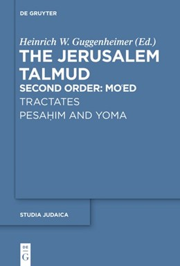 Abbildung von Guggenheimer   Tractates Pesahim and Yoma   1. Auflage   2020   beck-shop.de