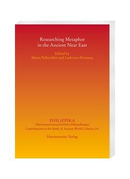 Abbildung von Pallavidini / Portuese | Researching Metaphor in the Ancient Near East | 1. Auflage | 2020 | beck-shop.de