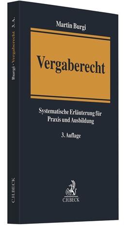 Abbildung von Burgi   Vergaberecht   3. Auflage   2021   beck-shop.de