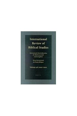 Abbildung von Lang | International Review of Biblical Studies, Volume 48 (2001-2002) | 1. Auflage | 2003 | 48 | beck-shop.de