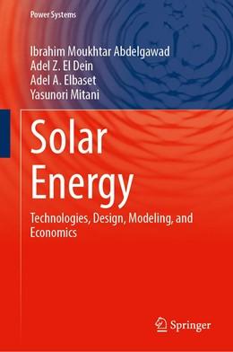 Abbildung von Abdelgawad / El Dein | Solar Energy | 1. Auflage | 2021 | beck-shop.de
