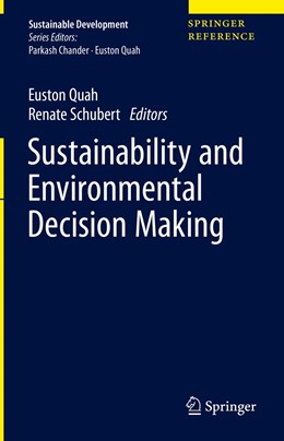 Abbildung von Quah / Schubert | Sustainability and Environmental Decision Making | 1. Auflage | 2021 | beck-shop.de