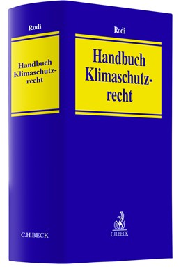 Abbildung von Rodi | Handbuch Klimaschutzrecht | 1. Auflage | 2021 | beck-shop.de