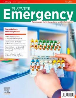 Abbildung von Grusnick / Flake   Elsevier Emergency Pharmakologie im Rettungsdienst 6/2020   1. Auflage   2020   beck-shop.de