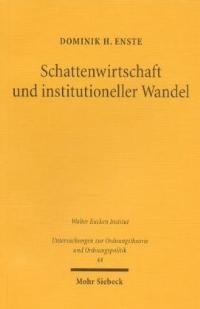 Abbildung von Enste | Schattenwirtschaft und institutioneller Wandel | 2002
