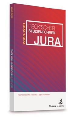 Abbildung von Beck'scher Studienführer Jura Wintersemester 2020/2021 | 1. Auflage | 2020 | beck-shop.de