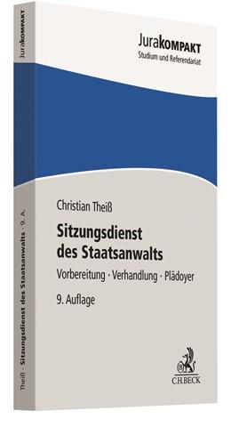 Abbildung von Theiß | Sitzungsdienst des Staatsanwalts | 9. Auflage | 2020 | beck-shop.de
