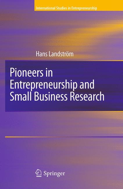 Abbildung von Landstrom | Pioneers in Entrepreneurship and Small Business Research | 2009
