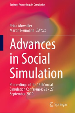 Abbildung von Ahrweiler / Neumann | Advances in Social Simulation | 1. Auflage | 2021 | beck-shop.de