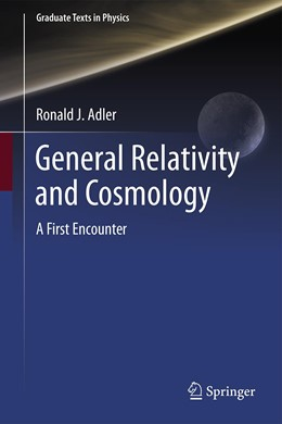 Abbildung von Adler | General Relativity and Cosmology | 1. Auflage | 2021 | beck-shop.de