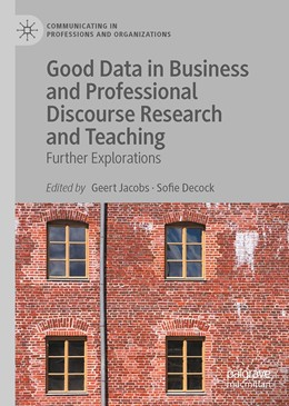 Abbildung von Jacobs / Decock | Good Data in Business and Professional Discourse Research and Teaching | 1. Auflage | 2021 | beck-shop.de