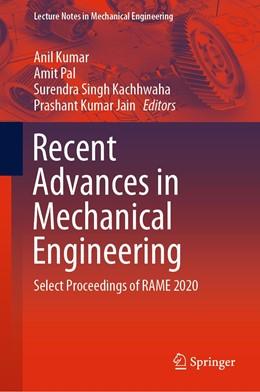 Abbildung von Pal / Kumar | Recent Advances in Mechanical Engineering | 1. Auflage | 2021 | beck-shop.de