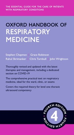 Abbildung von Chapman / Robinson   Oxford Handbook of Respiratory Medicine 4e   4. Auflage   2021   beck-shop.de
