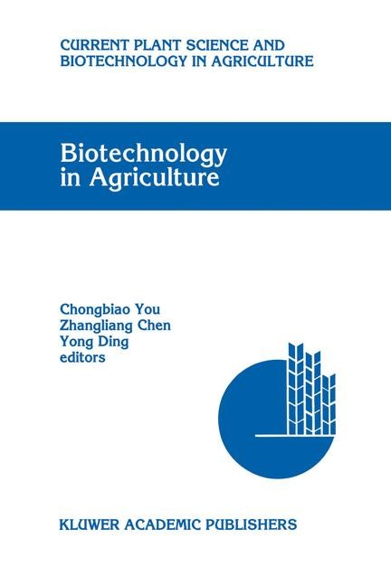 Abbildung von Chongbiao You / Zhangliang Chen / Yong Ding | Biotechnology in Agriculture | 1993