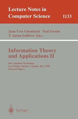 Abbildung von Chouinard / Fortier / Gulliver | Information Theory and Applications II | 1996 | 4th Canadian Workshop, Lac Del... | 1133
