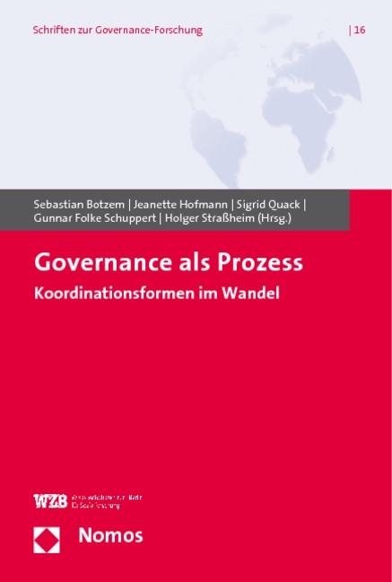 Abbildung von Botzem / Hofmann / Quack / Schuppert / Straßheim | Governance als Prozess | 2009
