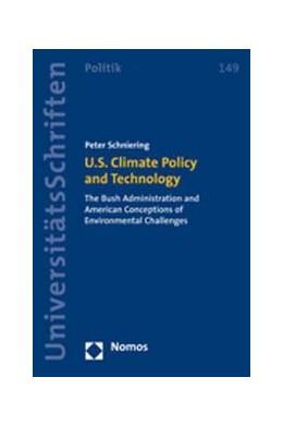 Abbildung von Schniering | U.S. Climate Policy and Technology | 2008