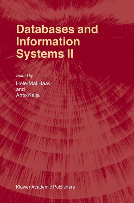 Abbildung von Haav / Kalja | Databases and Information Systems II | 2002 | 2002