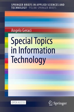 Abbildung von Geraci | Special Topics in Information Technology | 1. Auflage | 2021 | beck-shop.de
