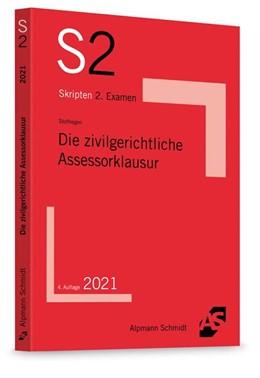 Abbildung von Stoffregen | Die zivilgerichtliche Assessorklausur | 4. Auflage | 2021 | beck-shop.de