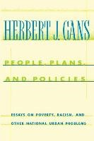 Abbildung von Gans | People, Plans, and Policies | 1994