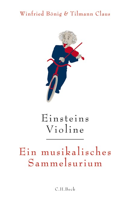 Cover: Tilmann Claus|Winfried Bönig, Einsteins Violine