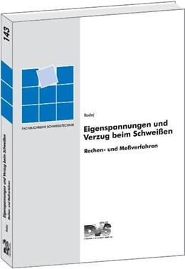 Abbildung von Radaj | Eigenspannungen und Verzug beim Schweißen | 2001 | Berechnungs- und Messverfahren | 143