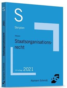 Abbildung von Altevers | Skript Staatsorganisationsrecht | 19. Auflage | 2021 | beck-shop.de