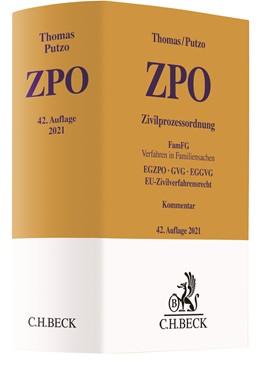 Abbildung von Thomas / Putzo | Zivilprozessordnung: ZPO | 42. Auflage | 2021 | beck-shop.de