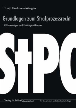 Abbildung von Hartmann-Wergen | Grundlagen zum Strafprozessrecht | 10. Auflage | 2020 | beck-shop.de