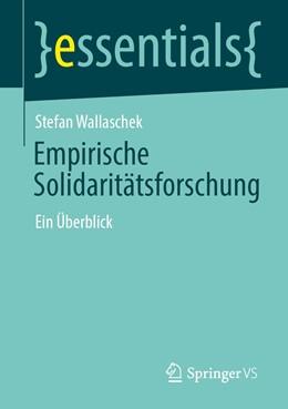 Abbildung von Wallaschek | Empirische Solidaritätsforschung | 1. Auflage | 2020 | beck-shop.de