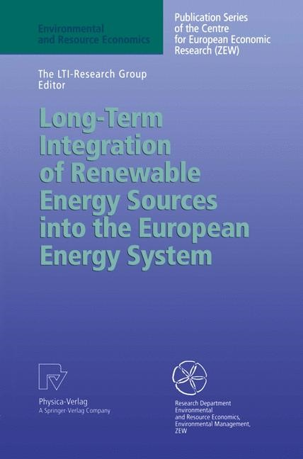 Abbildung von The LTI-Research Group | Long-Term Integration of Renewable Energy Sources into the European Energy System | 1998