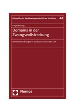 Abbildung von Herberg | Domains in der Zwangsvollstreckung | 2006 | Rechtsentwicklungen in Deutsch... | 44