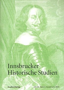 Abbildung von Strnad-Walsh | Innsbrucker Historische Studien 23/24 | 2005 | 23/24