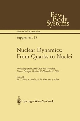 Abbildung von Pena / Stadtler / Eiró / Adam | Nuclear Dynamics: From Quarks to Nuclei | 2003 | Proceedings of the XXth CFIF F... | 15