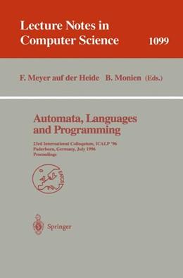 Abbildung von Meyer auf der Heide / Monien | Automata, Languages and Programming | 1996 | 23rd International Colloquium,... | 1099