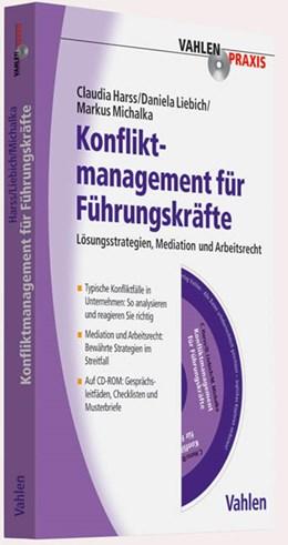 Abbildung von Harss / Liebich / Michalka   Konfliktmanagement für Führungskräfte   2011   Lösungsstrategien, Mediation, ...