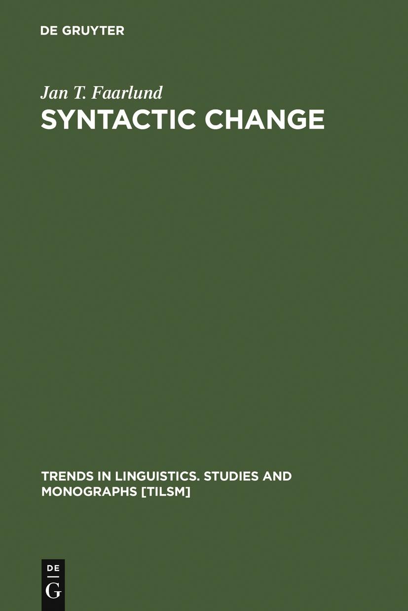 Abbildung von Faarlund | Syntactic Change | 1990 | 1990