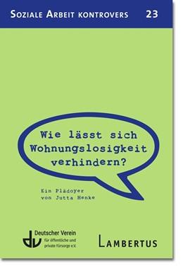 Abbildung von Henke | Wie lässt sich Wohnungslosigkeit verhindern? | 1. Auflage | 2020 | beck-shop.de