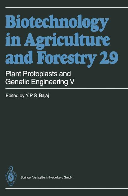 Abbildung von Bajaj   Plant Protoplasts and Genetic Engineering V   1994