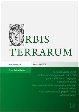 Abbildung von Rathmann | Orbis Terrarum 18 (2020) | 1. Auflage | 2020 | 18 | beck-shop.de