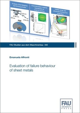 Abbildung von Affronti | Evaluation of failure behaviour of sheet metals | 1. Auflage | 2020 | beck-shop.de