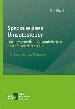 Abbildung von Sikorski | Spezialwissen Umsatzsteuer | 1. Auflage | 2020 | beck-shop.de
