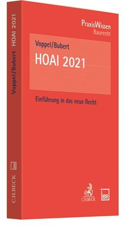 Abbildung von Voppel / Bubert   HOAI 2021   1. Auflage   2021   beck-shop.de