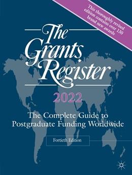 Abbildung von Palgrave Macmillan   The Grants Register 2022   40. Auflage   2021   beck-shop.de